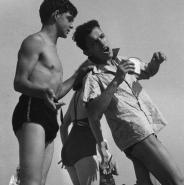 Boys playing, Coney Island, NYC, 1938