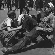 engel shoeshine bo yand friends1947f